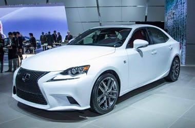 The 2014 Lexus IS Team One Digital Sessions